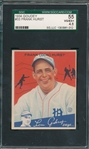 1934 Goudey #51 Rip Collins (Signed) & #33 Frank Hurst SGC 55, Lot of (2)