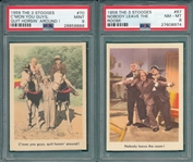 1959 Fleer 3 Stooges Near Set (85/96) W/ PSA 9 *MINT*