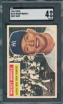 1956 Topps #135 Mickey Mantle SGC 4 *Gray*