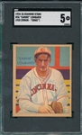 1934-36 Diamond Stars #36 Earnie Lombardi SGC 5