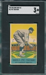 1933 DeLong #12 Pie Traynor SGC 3