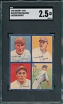 1935 Goudey 4 In 1 #2D Ruffing/Lazzeri/Dickey SGC 2.5