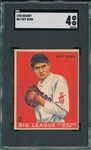 1933 Goudey #67 Guy Bush SGC 4