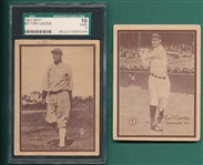 1931 W517 #1 Combs & #27 Lazzeri SGC 10, Lot of (2)