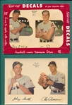 1951 Star Cal Decals Lot of (2), W/ Rosen