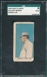 1909 E92 Bender, Striped Hat, Crofts Candy SGC Authentic