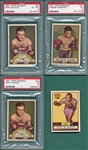 1951 Topps Ringside Boxing Lot of (28) W/ Walcott & PSA