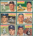 1956 Topps Lot of (29) W/ Kell