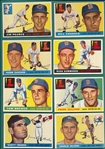 1955 Topps Lot of (39) W/ High Numbers