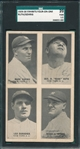 1929-30 Exhibits 4 In 1 PC, W/ Gehrig & Ruth SGC 20 *Presents Much Better*
