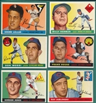 1955 Topps Lot of (20) W/ #201 Lollar