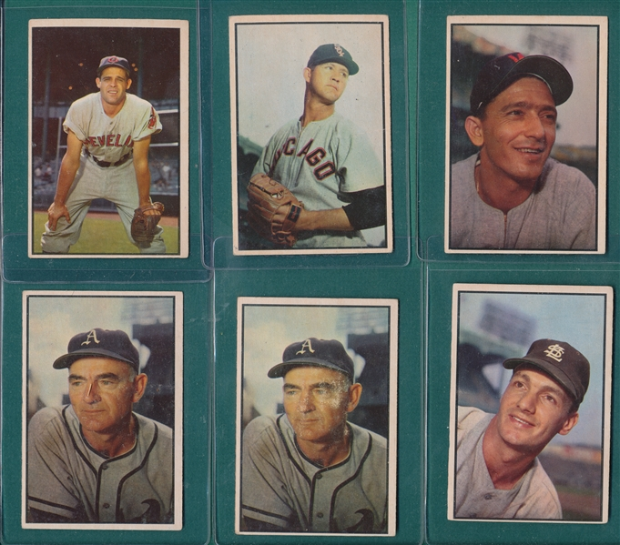 1953/55 Bowman Lot of (13) W/ 55 Berra