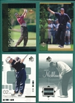 2001/02 UD/SP Authentic Golf Lot of (35) W/ (19) Tiger Woods