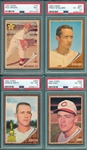 1962 Topps Lot of (8) W/ #181 Brown PSA 7.5