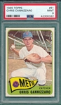 1965 Topps #061 Chris Cannizzaro PSA 9 *MINT*