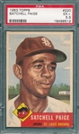 1953 Topps #220 Satchell Paige PSA 5.5