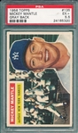 1956 Topps #135 Mickey Mantle PSA 5.5 *Gray*