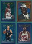 1995-96 Topps Finest Complete Set (251) *Unpeeled*