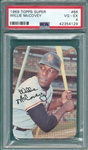 1969 Topps Super #66 Willie McCovey PSA 4