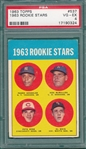 1963 Topps #537 Pete Rose PSA 4 *Rookie*