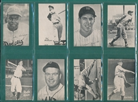 1949 Homogenized Bond Bread Lot of (24) W/ Musial, Ted Williams and Jackie Robinson