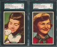 1953 Bowman Television & Radio Stars of NBC, High Grade Lot of (6) W/ #46 Ted Mack SGC 96 *MINT*