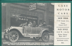1910s Joe Tinker, Case Motors PC
