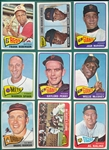 1965 Topps Partial Set (452/598) W/ High #s & HOFers