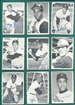 1969 Topps Deckle Edge Complete Set (35/33)