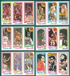 1980/81 Topps BSKT Lot of (88) W/ Jabbar, Magic & Bird