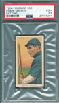 1909-1911 T206 Griffith, Batting, Piedmont Cigarettes PSA 3.5
