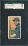 1909-1911 T206 Griffith, Batting, Sweet Caporal Cigarettes SGC 50