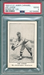1922 E121-120 Joe Judge PSA 2