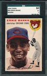 1954 Topps #94 Ernie Banks SGC 60 *Rookie*