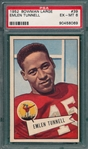 1952 Bowman Large FB #39 Emlen Tunnell PSA 6