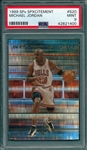 1999 SPx Spxcitement #S20 Michael Jordan PSA 9 *MINT*