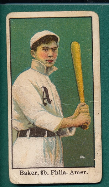 1909-11 E90-1 Home Run Baker American Caramel Co.