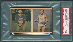 1951 Berk Ross Panel, 4-14/4-16 Galiffa & Cunningham, PSA 5.5