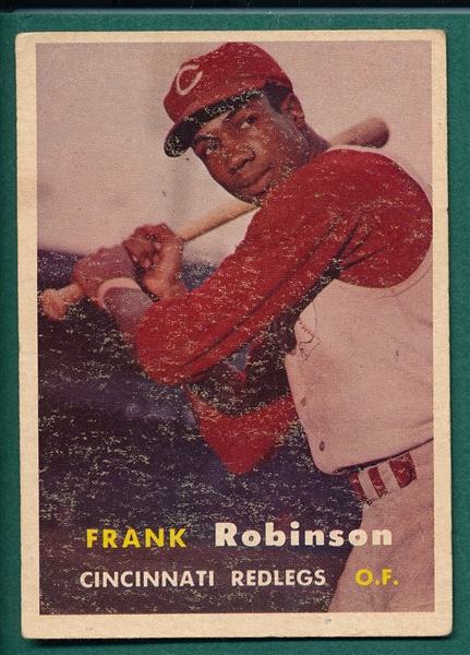 1957 Topps #35 Frank Robinson *Rookie*