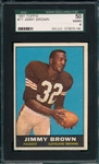 1961 Topps FB #71 Jimmy Brown SGC 50