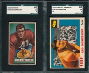 1951/55 Leo Nomellini Lot of (2) SGC 60