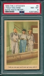 1959 The 3 Stooges #08 I Told You Wise Guys PSA 8