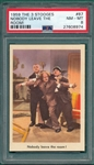 1959 The 3 Stooges #87 Nobody Leave the Room, PSA 8