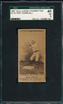 1887 N172 #95-2 Pop Corkhill Old Judge Cigarettes SGC 40 *Strong Dark Image*