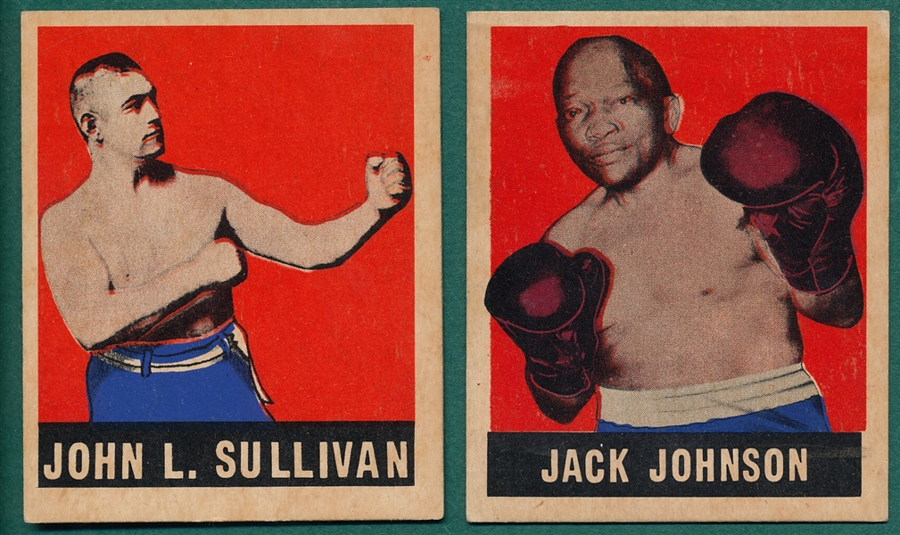 1948 Leaf #17 Johnson & #101 Sullivan, Lot of (2)