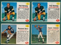 1963 Post Football Lot of (49) W/ Hornug (2)