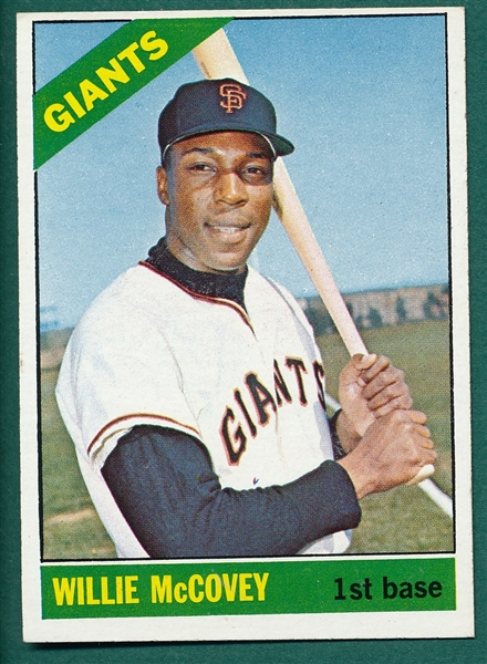 1966 Topps #550 Willie McCovey *Hi #* *SP*