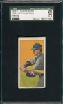 1909-11 T206 Leifield, Batting, Polar Bear, SGC 20