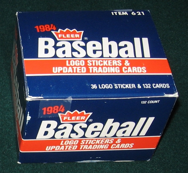 1984 Fleer Update Partial Set