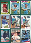 1974-Modern Baseball Lot of (1200+) W/ Rookies & HOFers